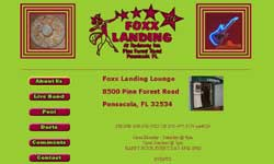 Foxx Landing Lounge Website